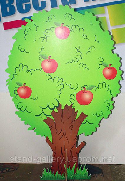 декоративное дерево груша, яблоня для детского сада, школы