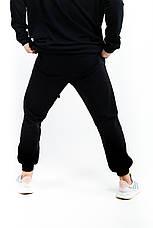 """Размеры S-3XL   Мужские спортивные штаны оверсайз """"Stroper"""" Intruder Black, фото 3"""