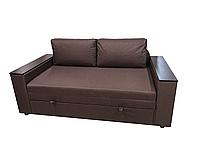 Диван-Кровать Кубус 160 см коричневый