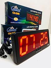 Годинники електронні настільні CX 2258 (40 шт/ящ)