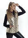 Жилет з капюшоном Irvik КА812 бронза, фото 4