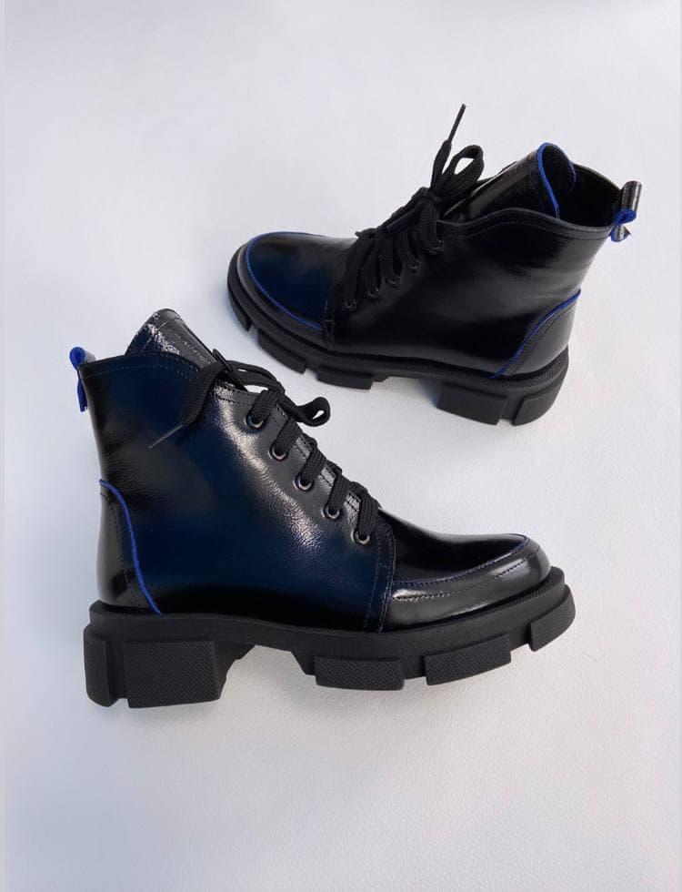 """Женские ботинки""""Черные"""" 39"""