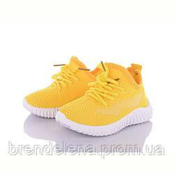 Дитячі текстильні кросівки для дівчинки ОВТ р22-25 ( код 5376-00)