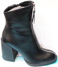 Чорні черевики жіночі від виробника модель КС8066-1