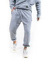 """Размеры S-3XL   Мужские спортивные штаны оверсайз """"Stroper"""" Intruder Grey, фото 3"""