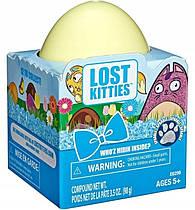 Игровой набор-сюрприз в яйце Лост Киттис Блестящий котик LOST KITTIES E6299 Hsabro