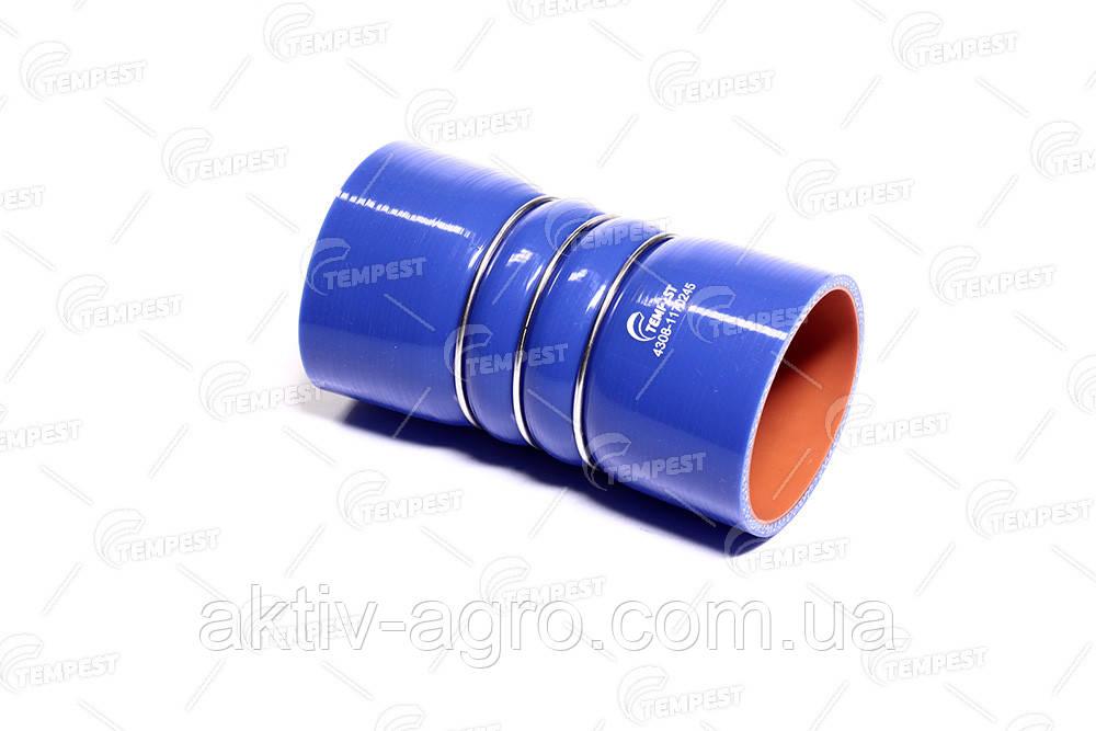 Патрубок интеркулера КАМАЗ 4308 силикон