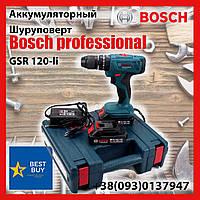 Аккумуляторный Шуруповерт Bosch professional GSR 120-li Шуруповерт Аккумуляторный БОШ GSR 120-li 24V 5Ah