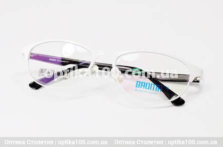 Белая оправа для очков, фото 2