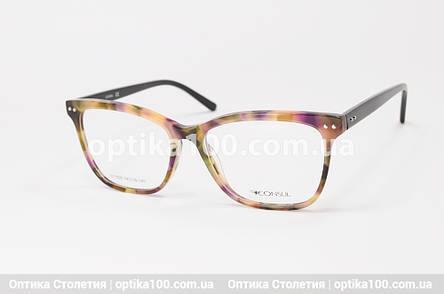 Женская цветная оправа для очков. На среднее лицо или лицо больше среднего, фото 2