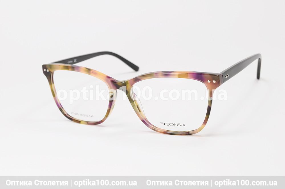 Женская цветная оправа для очков. На среднее лицо или лицо больше среднего