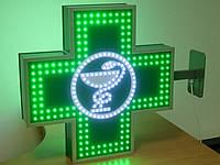 Аптечный крест 600х600 мм со змеей