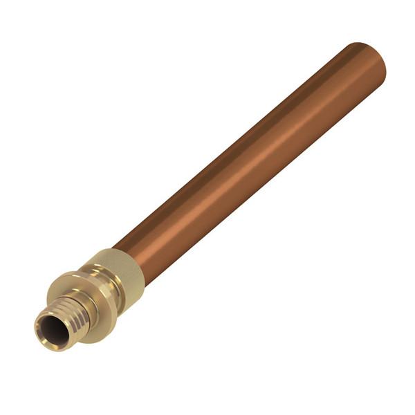 TECE Перехідник (прес) на мідну трубу, зовнішня пайка 20(18)х18мм