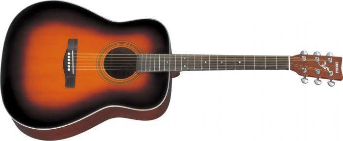 Акустическая гитара YAMAHA F370 (TBS)