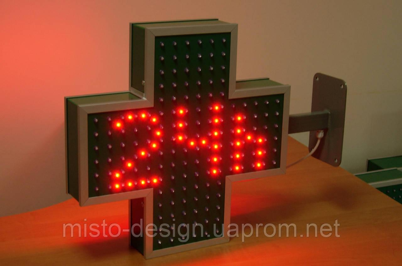 Крест 450х450 мм 24h (red)