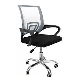 Кресло Bonro B-619 серая