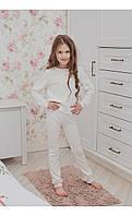 "Домашний костюм ""сандра"" белый размер 116 Mililook"