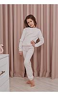 "Домашний костюм ""сандра"" пудра размер 116 Mililook"