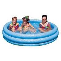 Детский надувной бассейн , с водоотводом в полу