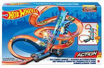 Игровой набор Небоскреб Хот Вилс с башней для свободного падения с 1 машинкой, 60см - Hot Wheels Sky Crash