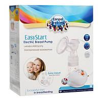Электрический Молокоотсос Легкий старт с бутылочкой, соской и контейнером для хранения EasyStart Canpol Babies