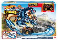 Игровой набор Жало Скорпиона Хот Вилс Монстр Трак с машинкой и внедорожником - Hot Wheels Scorpion Sting