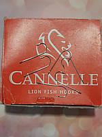 """Крючок """"Cannelle"""" №1 (№11) игольчатый, длинное цевьё. Франция., фото 1"""