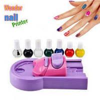"""Машинка-принтер для нанесения рисунков на ногти """"Wonder Nail"""" (принтер для маникюра)"""