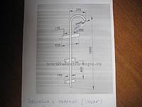 Трубостойка с траверсой (гусак),опоры,хомуты