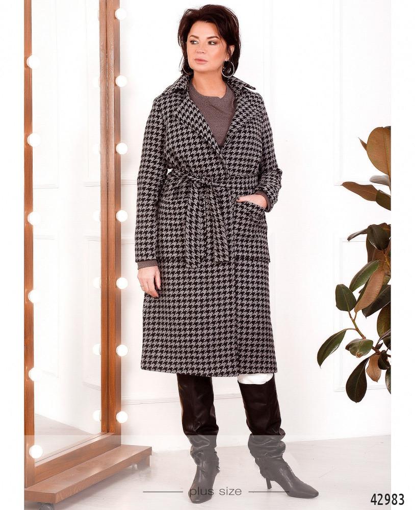 Жіноче демісезонне пальто 46-48