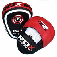 Лапы боксерские RDX Gel Focus Red (РДХ), фото 1