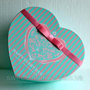 """Подарок для любимой """"Сладкое сердце"""" (большое), фото 2"""