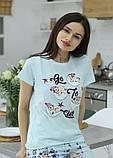 Молодежная Пижама с шортами,Pigamoni, фото 3