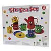 Набор игровой посуды - чайный, 11 шт, разноцветный, жестяной (CH10716W), фото 5