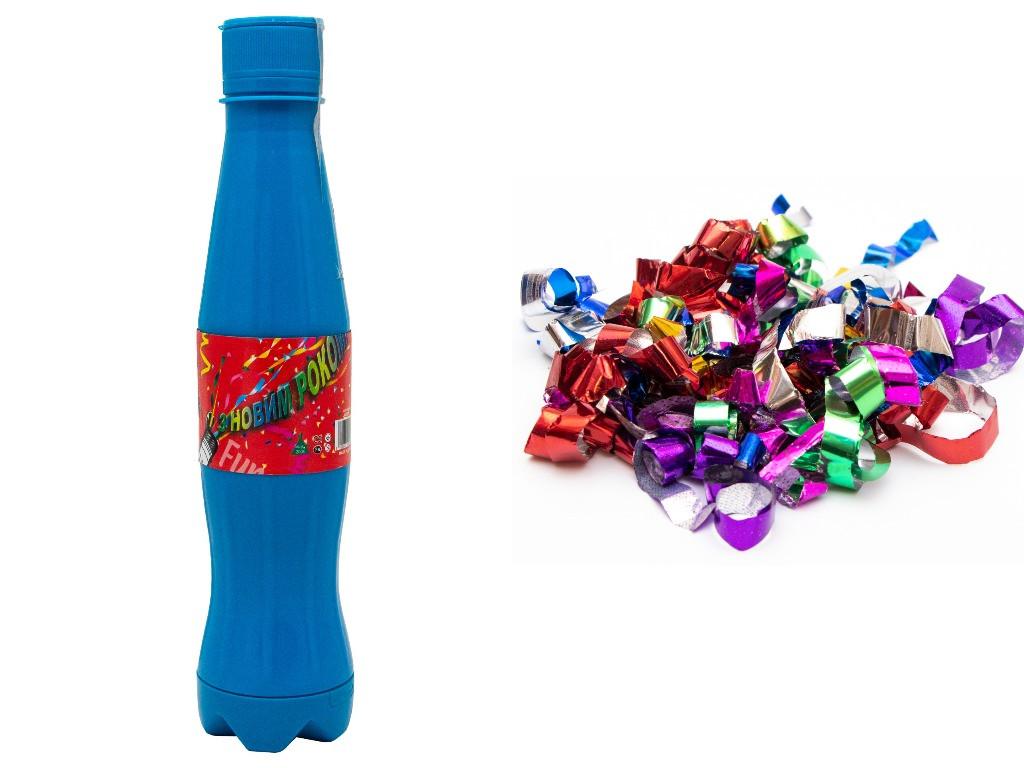 Хлопушка пневматическая - Кока-кола, синяя, 26 см (400386-1)