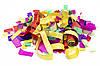 Хлопавка пневматична, 100 см, різнокольорові смужки з паперу (400355), фото 3