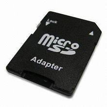 Перехiдник з micro SD на SD Чорний