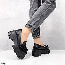 Модные женские туфли на низком каблуке 11191 (ЯМ), фото 2