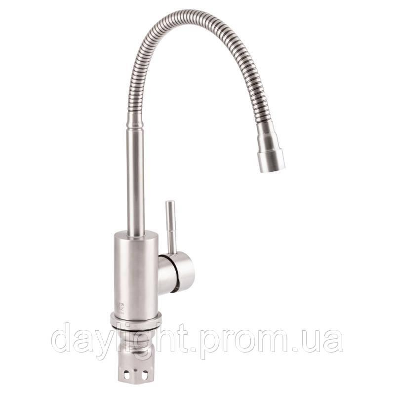 Змішувач для кухні з рефлекторним виливом Lidz (NKS) 12 32 015F-4
