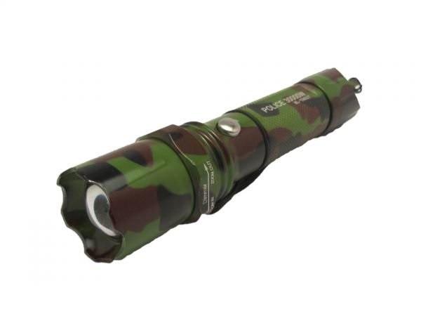 Ручной мощный фонарик с регулировкой фокуса BL-T8627