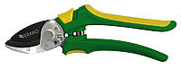 Секатор садовий 205мм зріз прямий 18мм зубчастий механізм VERANO 71-817 для обрізки дерев винограду квітів для