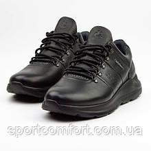 Чоловічі кросівки Clubshoes чорні шкіра