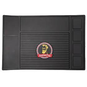 Парикмахерский магнитный коврик силиконовый термостойкий SPL 21150