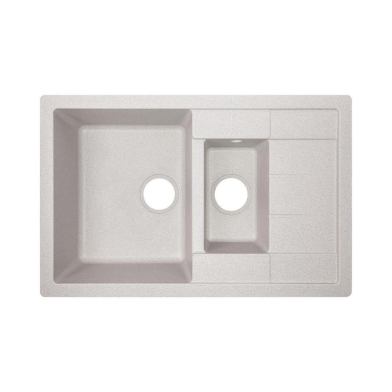 Кухонна мийка Lidz 780x495/200 GRA-09 (LIDZGRA09780495200)
