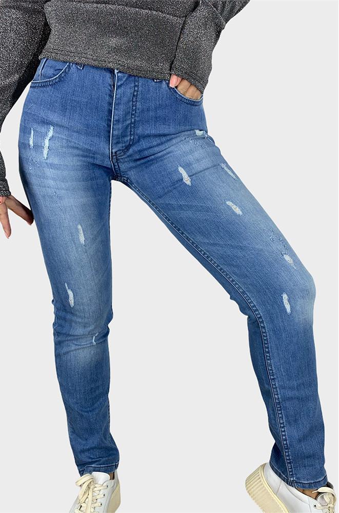 Джинсы женские синие AAA 124261P