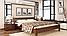 Кровать деревянная Рената двуспальная, фото 6