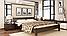 Кровать деревянная Рената двуспальная, фото 3