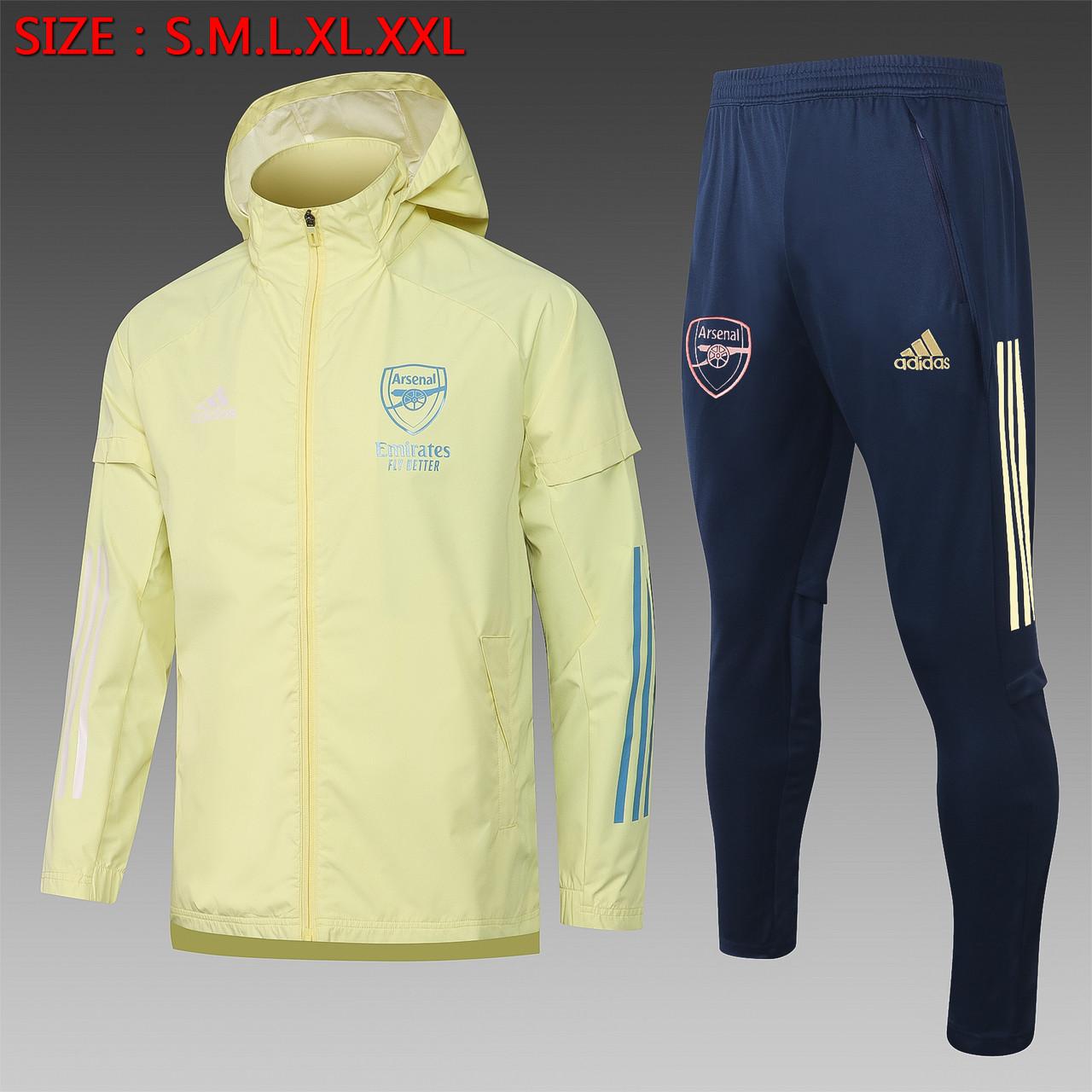 Спортивный костюм Арсенал Лондон Arsenal 20-21 (ветровка + штаны)