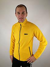 Жёлтая мужская кофта