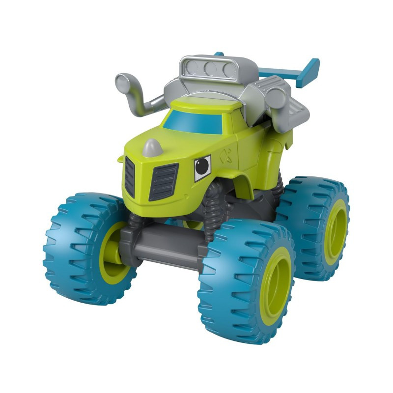 Машинка Зег Вспыш и чудо машинки Fisher-Price Blaze & the Monster Machines Zeg GWX80